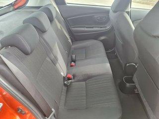 2019 Toyota Yaris NCP130R Ascent Orange 4 Speed Automatic Hatchback