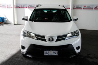 2015 Toyota RAV4 ASA44R MY14 Upgrade GX (4x4) Glacier White 6 Speed Automatic Wagon.