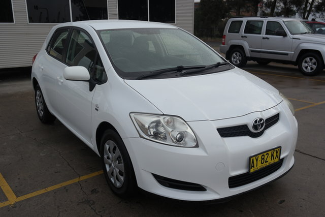 Used Toyota Corolla ZRE152R Ascent Maryville, 2008 Toyota Corolla ZRE152R Ascent White 4 Speed Automatic Hatchback
