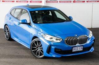 2020 BMW 118i F40 M Sport Blue 7 Speed Auto Dual Clutch Hatchback.