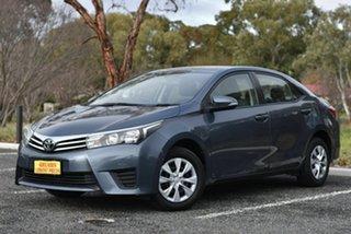 2015 Toyota Corolla ZRE172R Ascent S-CVT Grey 7 Speed Constant Variable Sedan.