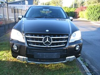 2010 Mercedes-Benz ML350 W164 09 Upgrade Sports Luxury (4x4) Black 7 Speed Automatic G-Tronic Wagon.