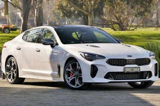 2019 Kia Stinger CK MY20 GT Fastback White 8 Speed Sports Automatic Sedan.
