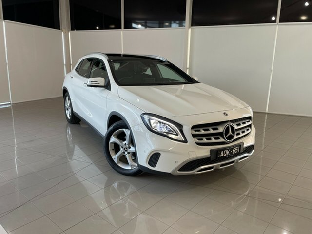 Used Mercedes-Benz GLA-Class X156 808+058MY GLA220 d DCT Deer Park, 2017 Mercedes-Benz GLA-Class X156 808+058MY GLA220 d DCT White 7 Speed Sports Automatic Dual Clutch