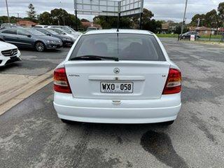 2003 Holden Astra TS MY03 CD White 4 Speed Automatic Sedan