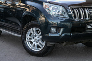 2009 Toyota Landcruiser Prado KDJ150R Kakadu Steel 5 Speed Sports Automatic Wagon.