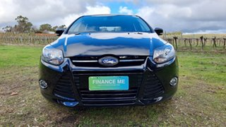 2014 Ford Focus LW MkII MY14 Sport PwrShift Black/Grey 6 Speed Sports Automatic Dual Clutch.