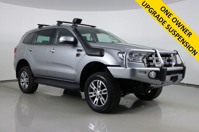 Used Ford Everest UA MY17.5 Trend (4WD) Bentley, 2017 Ford Everest UA MY17.5 Trend (4WD) Silver 6 Speed Automatic SUV