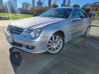2008 Mercedes-Benz CLK-Class C209 MY08 CLK280 Avantgarde Silver 7 Speed Automatic Coupe