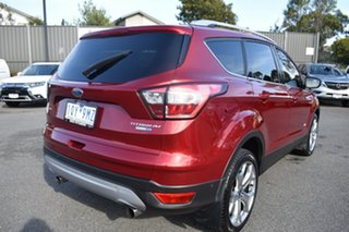 2018 Ford Escape ZG 2018.00MY Titanium Red 6 Speed Sports Automatic SUV.