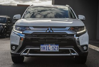 2021 Mitsubishi Outlander ZL MY21 Exceed AWD White 6 Speed Constant Variable Wagon.