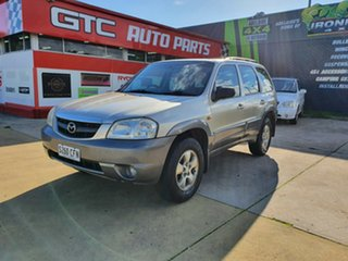 2005 Mazda Tribute MY2004 Limited Sport Gold 4 Speed Automatic Wagon.