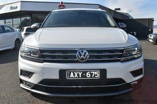 2018 Volkswagen Tiguan 5N MY18 140TDI Highline DSG 4MOTION Allspace White 7 Speed