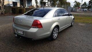 2010 Holden Caprice WM II V Silver 6 Speed Auto Active Sequential Sedan.