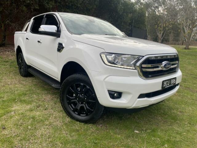 Used Ford Ranger PX MkIII MY19 XLT 3.2 (4x4) Wangaratta, 2019 Ford Ranger PX MkIII MY19 XLT 3.2 (4x4) White 6 Speed Automatic Double Cab Pick Up
