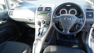 2008 Toyota Corolla ZRE152R Ascent Silver 4 Speed Automatic Hatchback