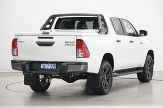 2020 Toyota Hilux GUN126R Rogue Double Cab Pearl White 6 Speed Sports Automatic Utility