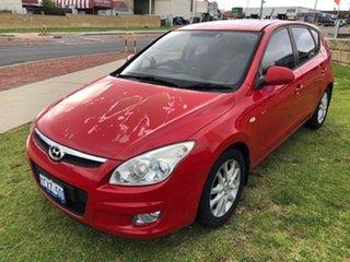 2008 Hyundai i30 FD MY09 SLX Red 4 Speed Automatic Hatchback