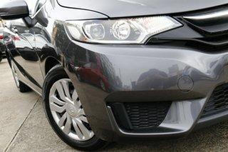 2016 Honda Jazz GF MY17 VTi Grey 1 Speed Constant Variable Hatchback.