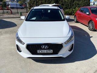 2018 Hyundai i30 PD2 MY19 Active Polar White 6 Speed Manual Hatchback.