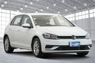 2018 Volkswagen Golf 7.5 MY18 110TSI DSG White 7 Speed Sports Automatic Dual Clutch Hatchback.