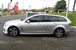 2015 Holden Commodore VF MY15 SV6 Sportwagon Silver 6 Speed Sports Automatic Wagon.