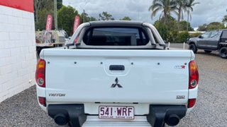 2011 Mitsubishi Triton MN MY11 GL-R (4x4) White Manual Dual Cab