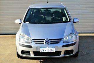 2007 Volkswagen Golf V MY07 Comfortline Tiptronic Silver 6 Speed Sports Automatic Hatchback.