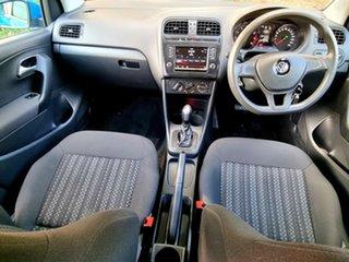 2016 Volkswagen Polo 6R MY16 66TSI DSG Trendline Blue 7 Speed Sports Automatic Dual Clutch Hatchback
