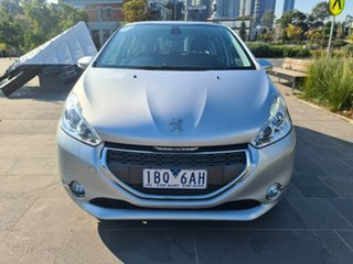 2014 Peugeot 208 A9 MY14 Allure Silver 4 Speed Automatic Hatchback