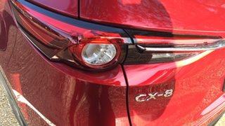 2021 Mazda CX-8 KG2WLA Touring SKYACTIV-Drive FWD Soul Red 6 Speed Sports Automatic Wagon