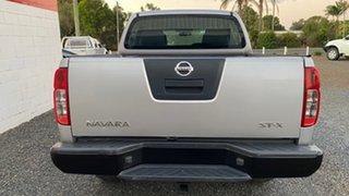 2008 Nissan Navara D40 ST-X 4X4 Silver Manual Dual Cab