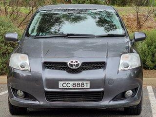 2009 Toyota Corolla ZRE152R Edge Grey 6 Speed Manual Hatchback.
