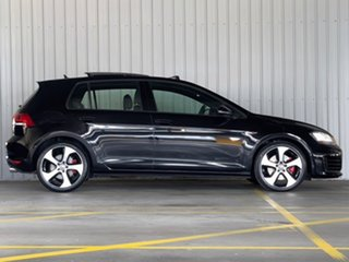 2014 Volkswagen Golf VII MY14 GTI DSG Black 6 Speed Sports Automatic Dual Clutch Hatchback.