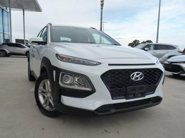 Pre-Owned Hyundai Kona OS MY18 Active 2WD Blacktown, 2018 Hyundai Kona OS MY18 Active 2WD Chalk White 6 Speed Sports Automatic Wagon