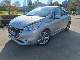 2014 Peugeot 208 A9 MY14 Allure Silver 4 Speed Automatic Hatchback.