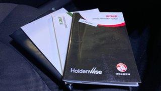 2013 Holden Cruze JH Series II MY13 Equipe White 5 Speed Manual Hatchback
