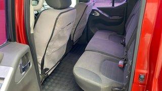 2012 Nissan Navara D40 ST (4x4) Red Manual Dual Cab
