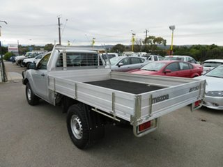 2014 Mazda BT-50 MY13 XT (4x4) Silver 6 Speed Manual Cab Chassis
