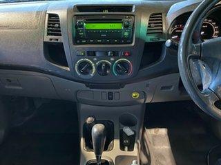 2009 Toyota Hilux KUN26R MY09 SR White 4 Speed Automatic Utility