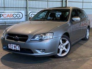2006 Subaru Liberty B4 MY06 Premium Pack AWD Blue 4 Speed Sports Automatic Wagon.