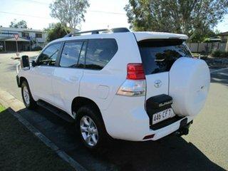 2011 Toyota Landcruiser Prado KDJ150R GXL White 5 Speed Sports Automatic Wagon