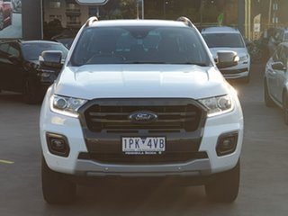 2019 Ford Ranger PX MkIII 2019.00MY Wildtrak Black 10 Speed Sports Automatic Double Cab Pick Up.