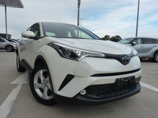 2018 Toyota C-HR NGX10R S-CVT 2WD Crystal Pearl 7 Speed Constant Variable Wagon.