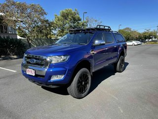 2016 Ford Ranger PXII XLT Blue 6 Speed Automatic Double Cab.