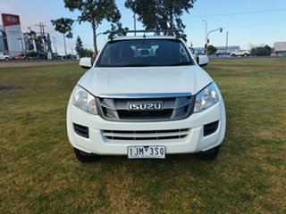 2016 Isuzu D-MAX MY17 SX Crew Cab 4x2 High Ride Splash White 6 Speed Sports Automatic Cab Chassis.