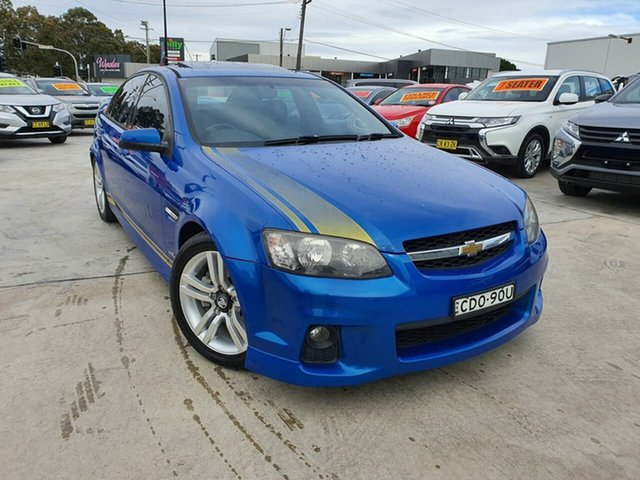 Used Holden Commodore VE II SV6 Liverpool, 2011 Holden Commodore VE II SV6 Blue 6 Speed Sports Automatic Sedan