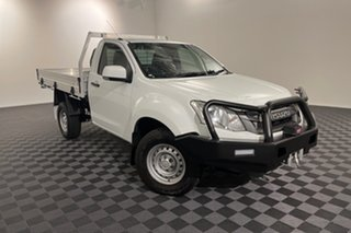 2016 Isuzu D-MAX MY15 SX White 5 speed Automatic Cab Chassis.