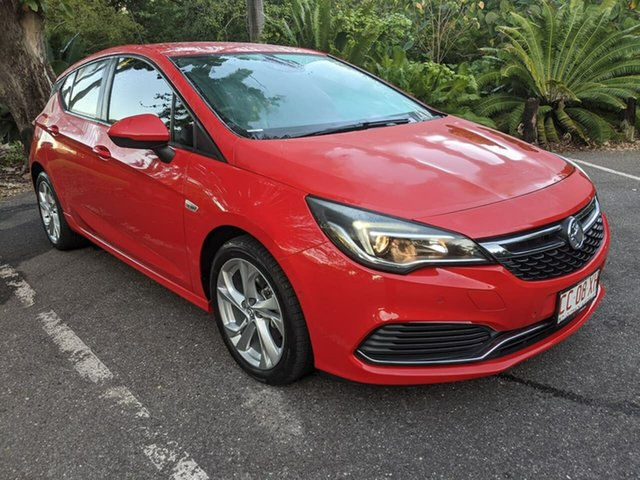 Used Holden Astra BK MY18 RS Stuart Park, 2017 Holden Astra BK MY18 RS Red 6 Speed Sports Automatic Hatchback