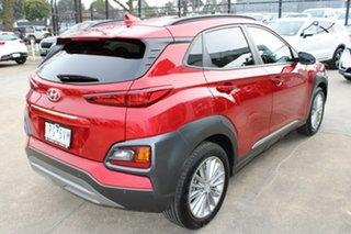 2019 Hyundai Kona OS.2 MY19 Elite 2WD Red 6 Speed Sports Automatic Wagon